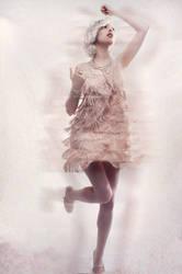 Katie - Dancing by azhurian