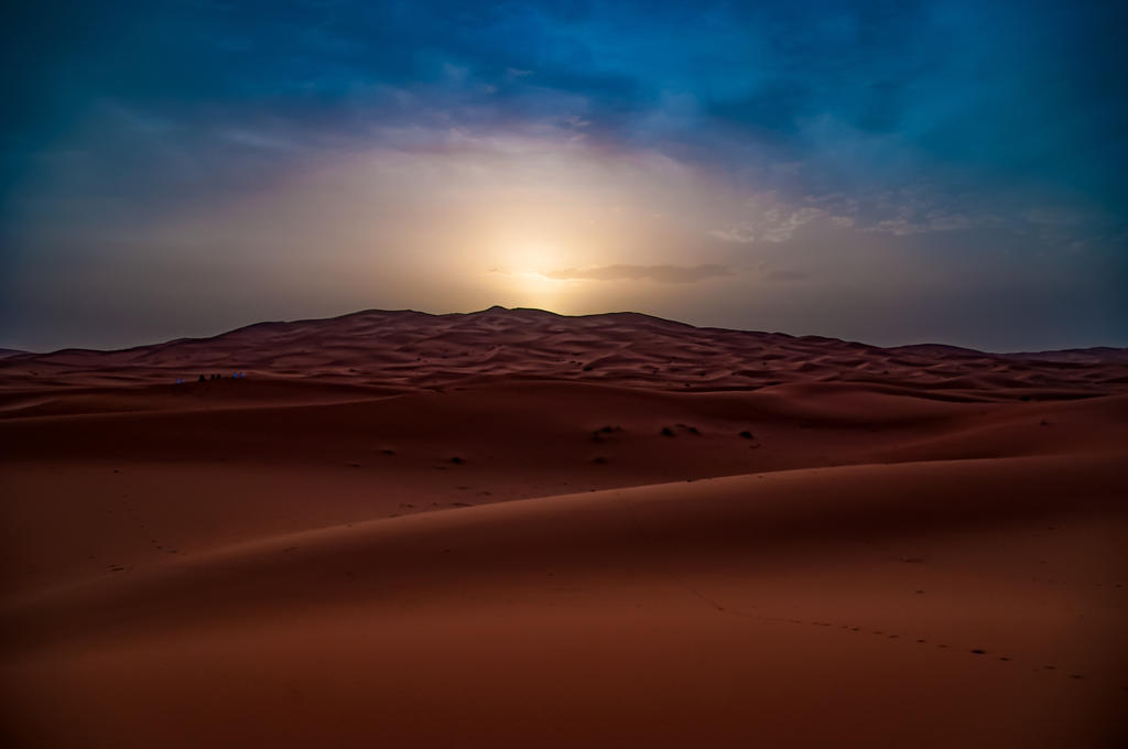 Silky sunset by MuffYz