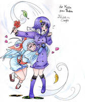 Brissa y Michiko by MizuKatsu