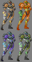 Samus Variations by Cosmic0ne