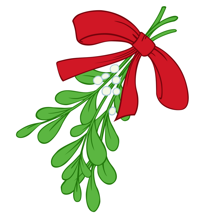mistletoe by somepony on deviantart rh deviantart com christmas mistletoe vector mistletoe vector image