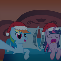 T'was the night before Hearths Warming by Somepony