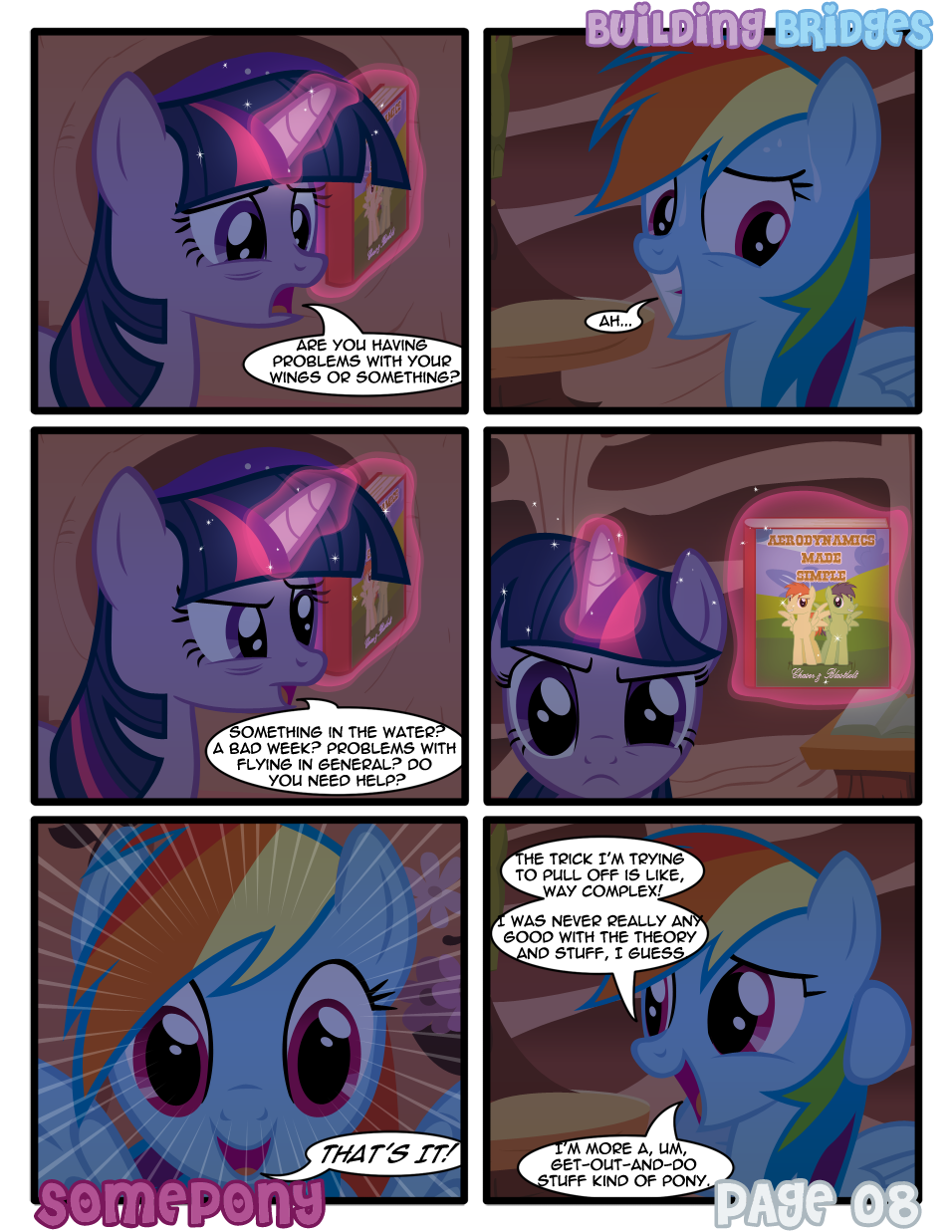 Building Bridges - Page 08 by Somepony