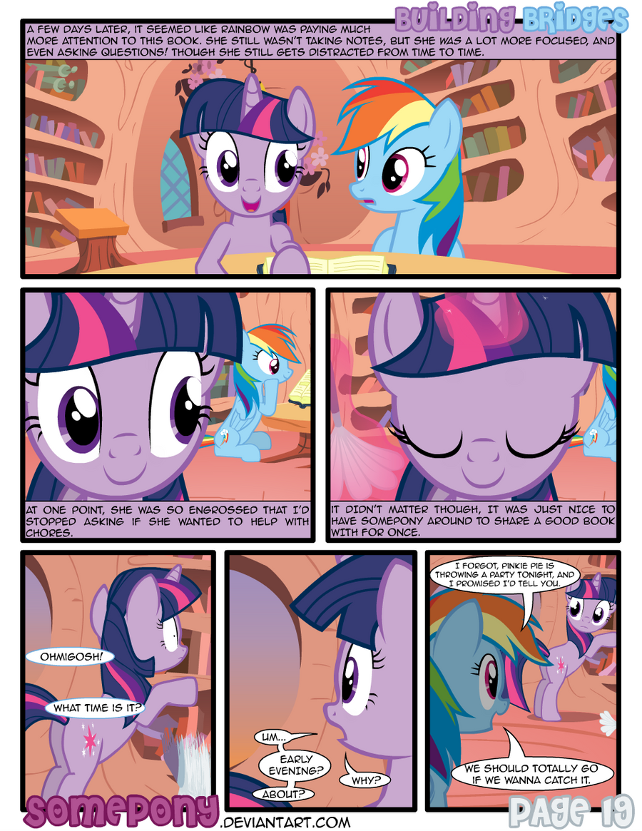 Building Bridges - Page 19 by Somepony