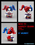 Harley Quinn (New 52 version) munny