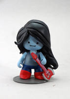 Marceline, the vampire queen munny by FlyingSciurus