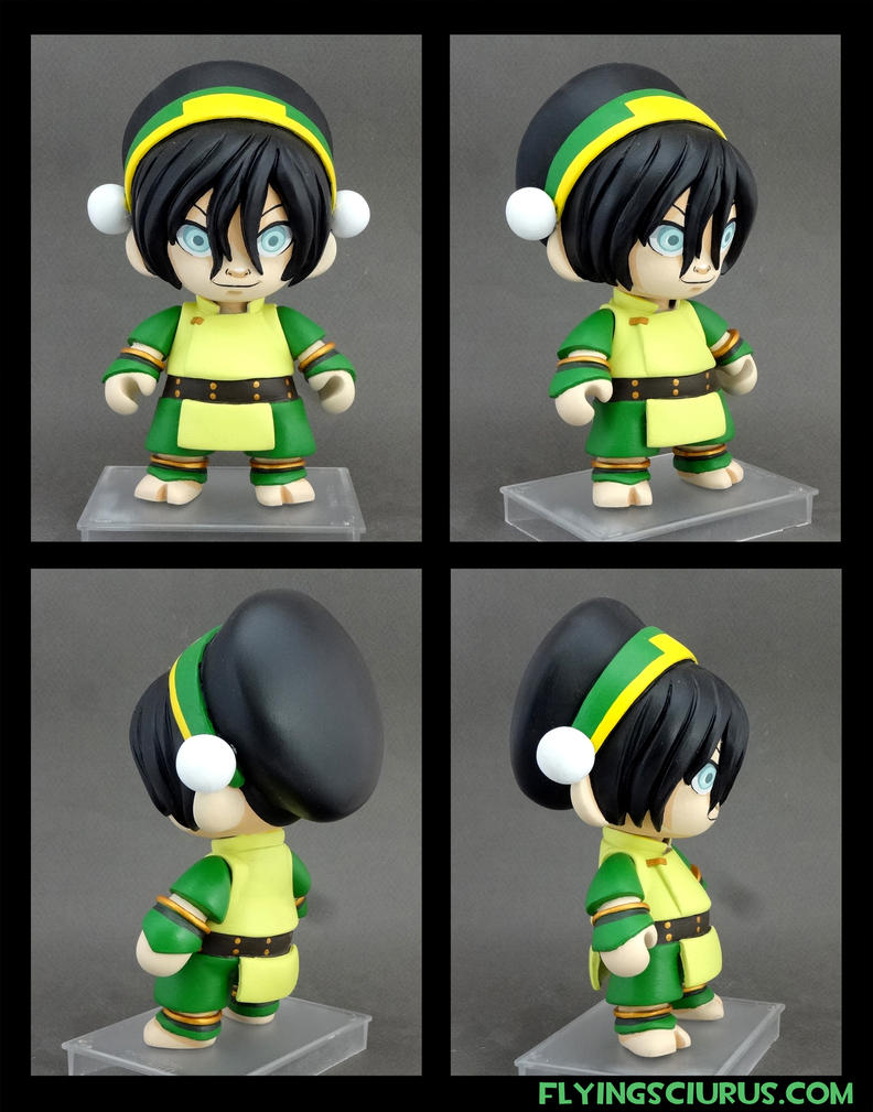 Toph custom munny by FlyingSciurus