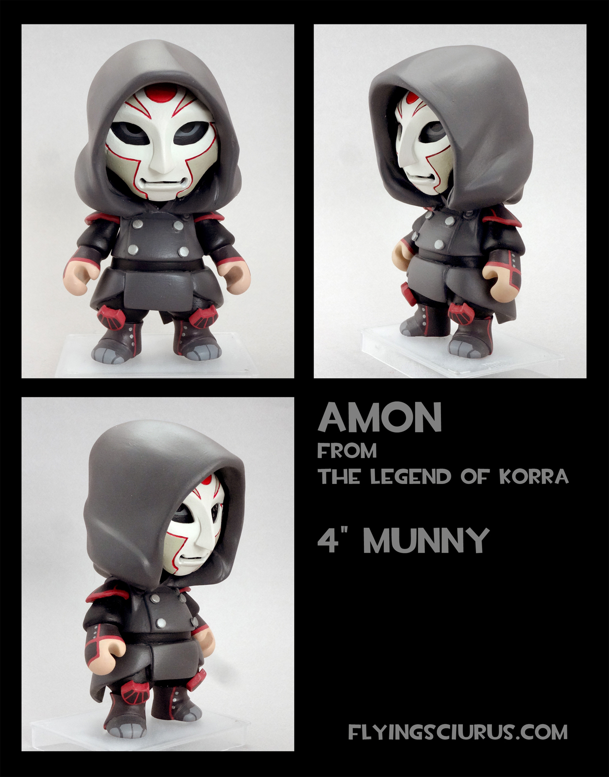 Amon custom munny by FlyingSciurus