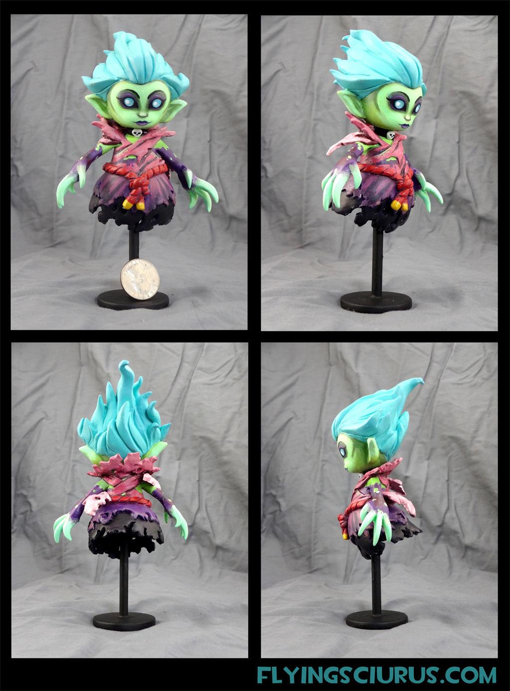 Death Prophet Custom figure (100% charity auction) by FlyingSciurus