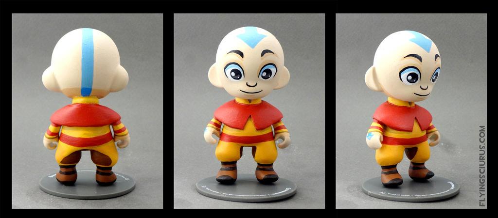 Avatar Aang custom figure by FlyingSciurus