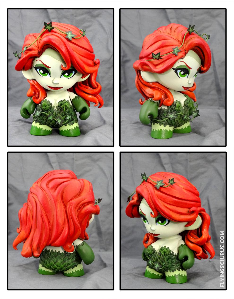 Poison Ivy custom Munny figure by FlyingSciurus