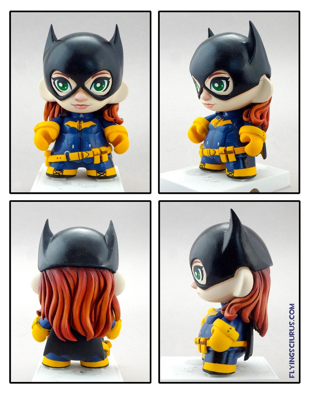 Batgirl of Burnside custom Munny by FlyingSciurus