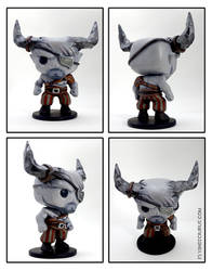 Custom The Iron Bull Funko Pop