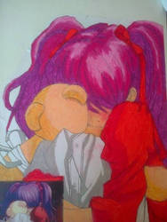 my only friend ( oil pastel)