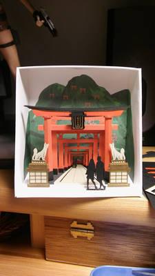 Tatebanko, Inari shrine