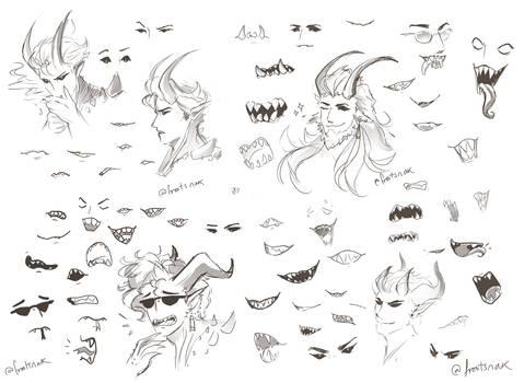 Practice sketchies