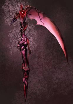 weapon concept - scythe