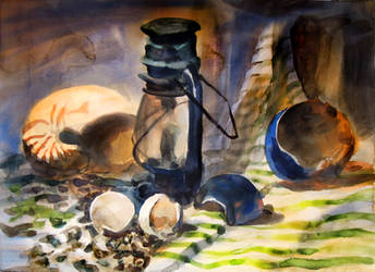 Still Life - Water Colour