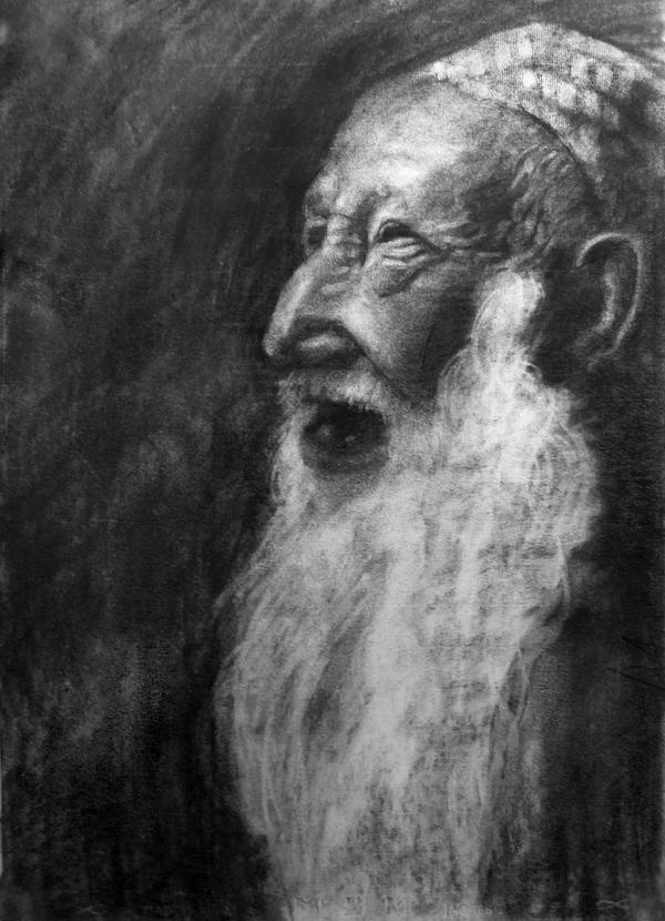 Old Man - Sketch