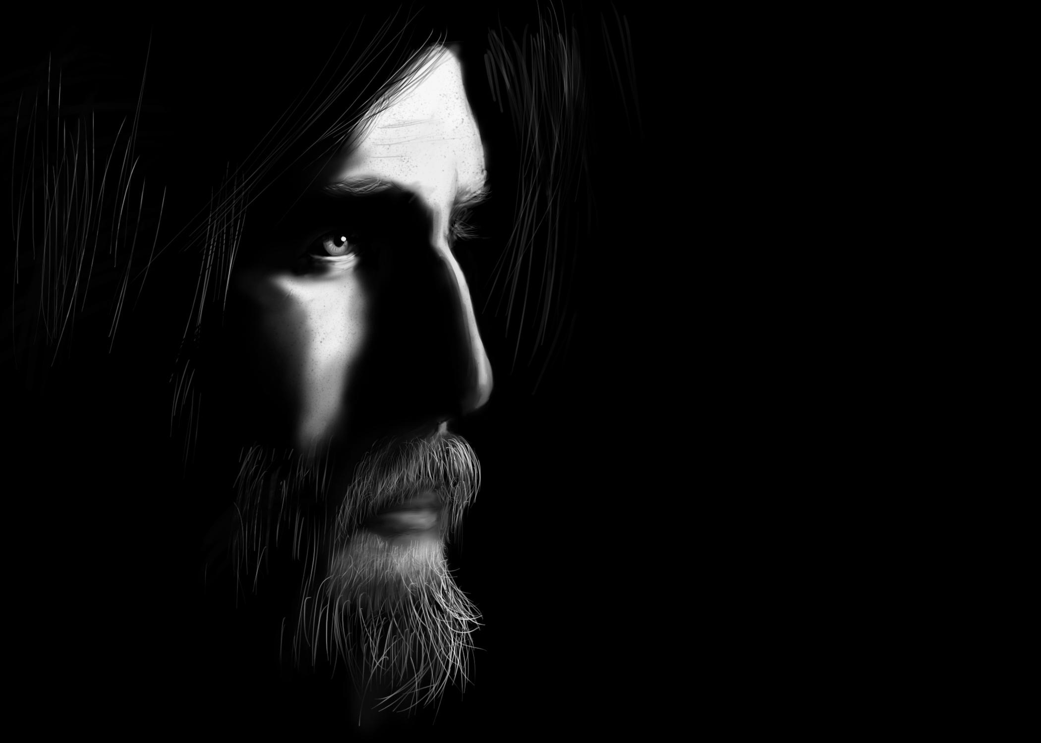 Man In Beard by acemanoj