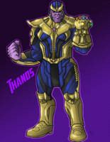 Avengers: Thanos by greaperx666