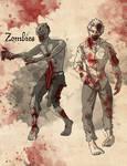 Monstrosities: Day 7- Zombies