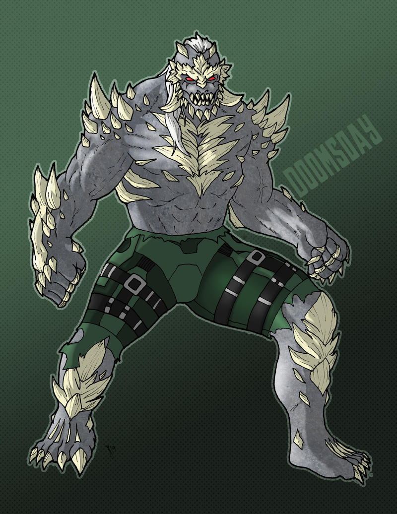 Dc Doomsday By Greaperx666 On Deviantart