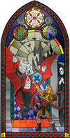 Castlevania Stained Glass