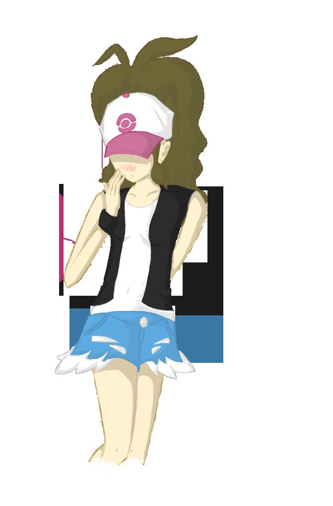 Eure Skizzen/Zeichnung! Pokemon_BW_Trainer_by_CharryEX