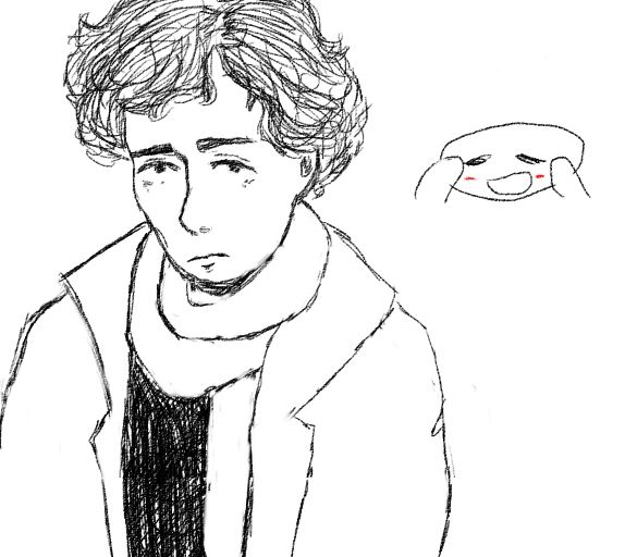 this is supposed to be sherlock by sadmoonchild