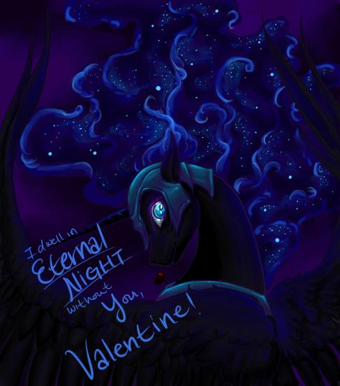 Pony Valentine by snip-veritas