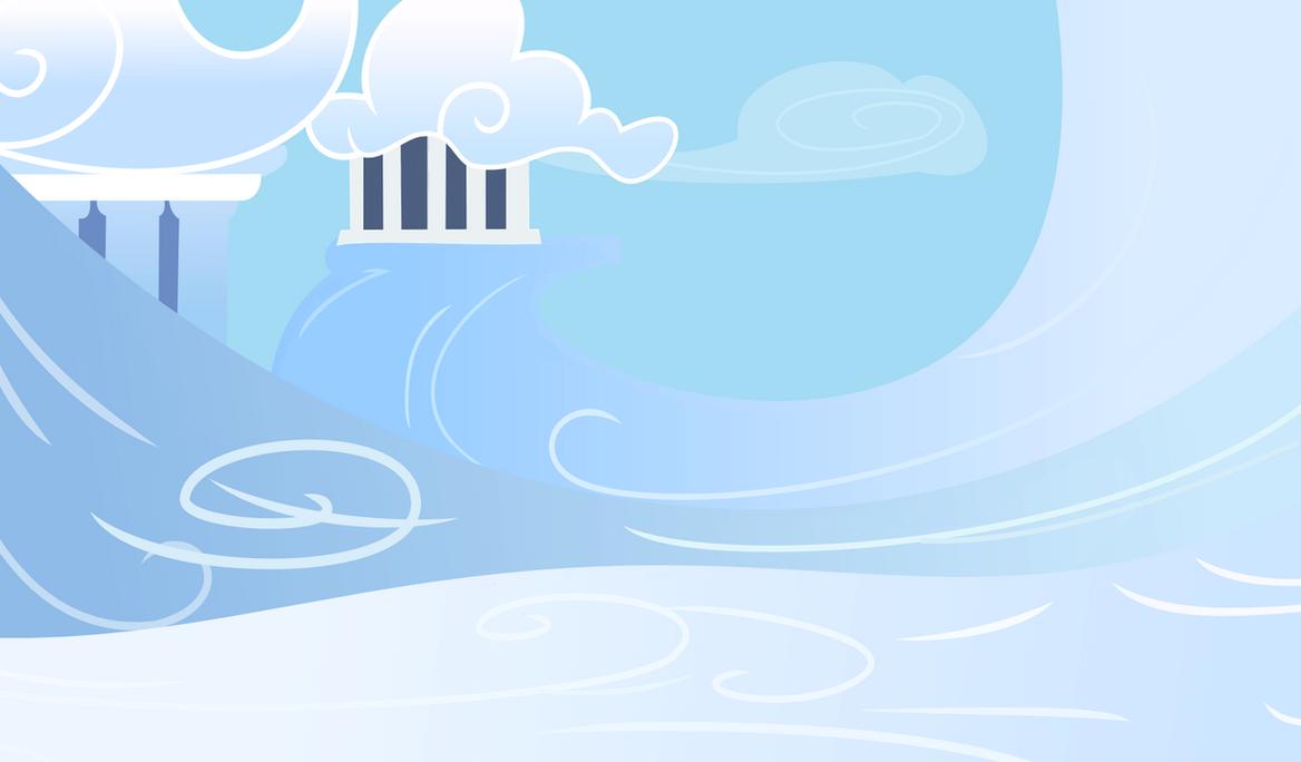 cloudsdale background by anunium on deviantart
