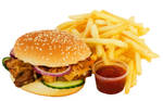 Fast Food - Burger and Fries