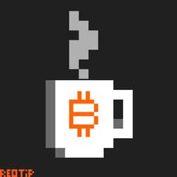 Pxielart Tasse Bitcoin