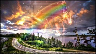 Dragon arc en ciel by silivrene on deviantart - Dragon arc en ciel ...