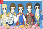 One Direction Disney Prince Charmings