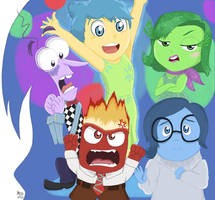Disney Pixar's Inside Out by OneDirectionFanJohn