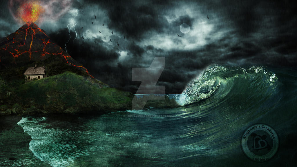 Nature Unleashed: My First Digital Matte Painting by Turtlegirl90