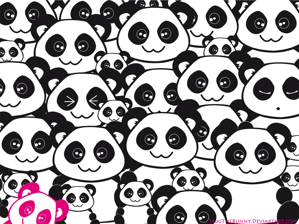 Gummie Kawaii Panda Wallpaper By HugTheBunny