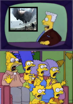 simpsons reaction Cars 3
