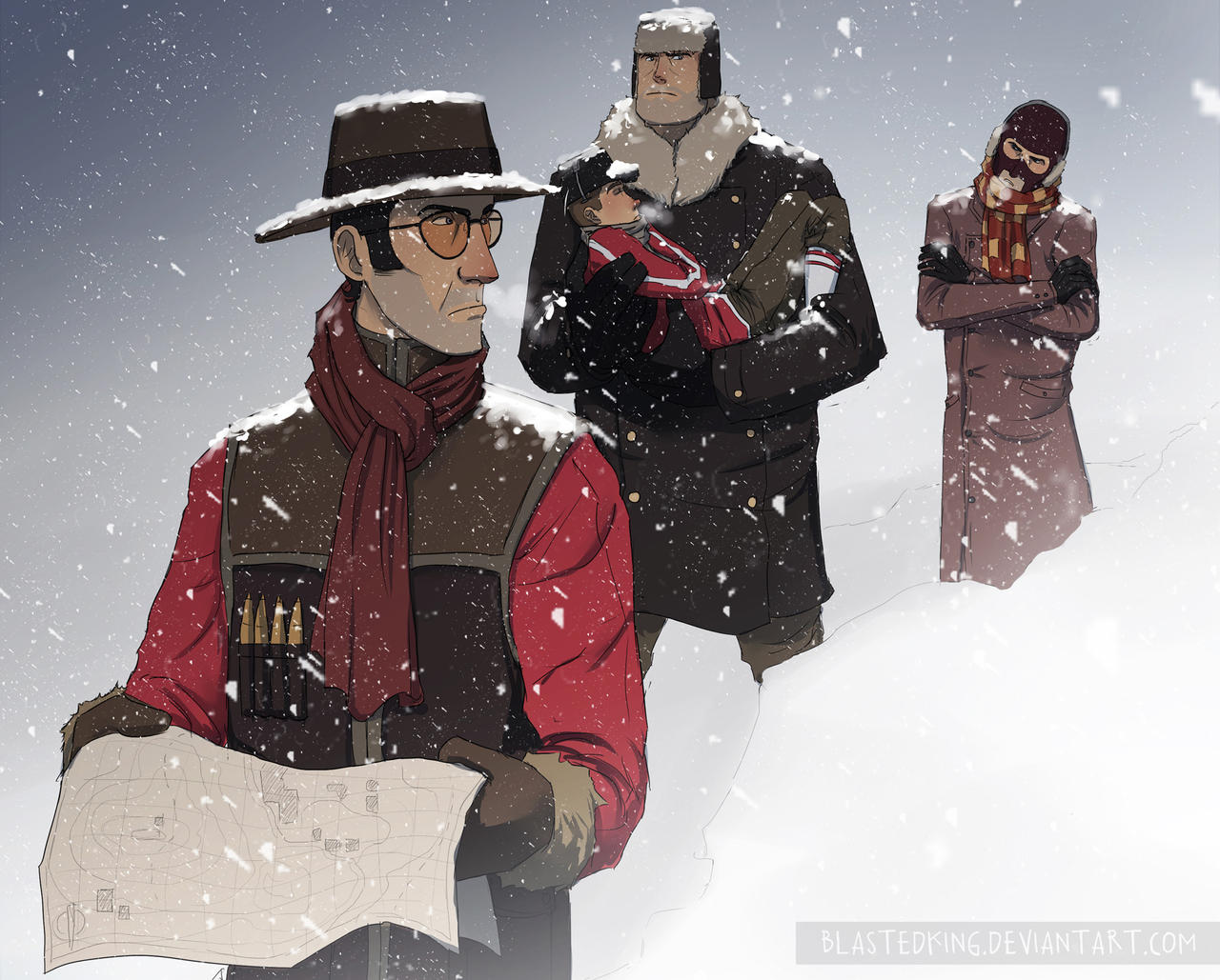 300 In the Snow by BlastedKing