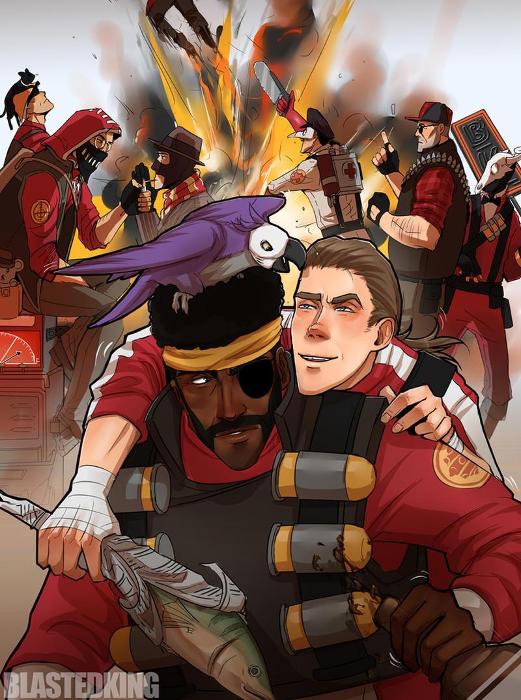 9296  Team Spirit by BlastedKing