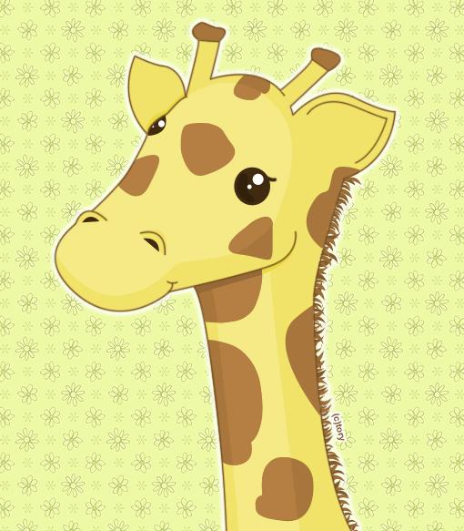 Giraffe by sooperxcrazy