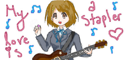 My Love is a Stapler by VocaloidReina13