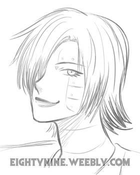 Mettaton - Portrait Sketch