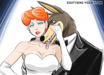 Red and Wolfie - Tex Avery by LexyMako