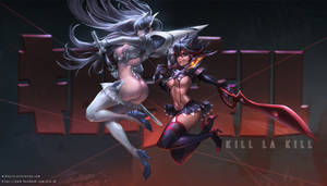 Kill la Kill FanArt by JiroJh