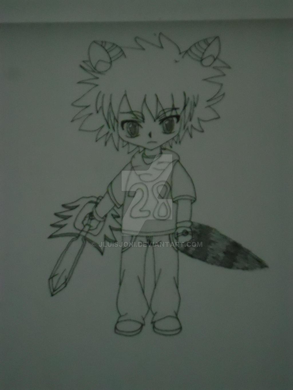 Akio's rival by KuraiJinx