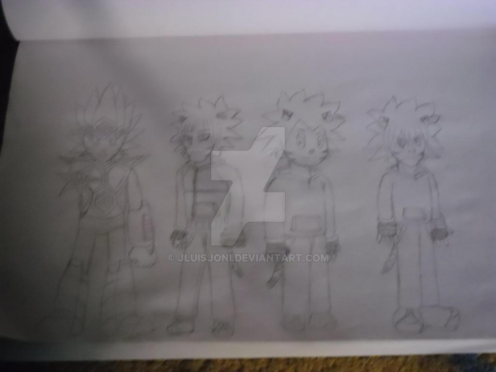 One character, various styles, part 2 by KuraiJinx