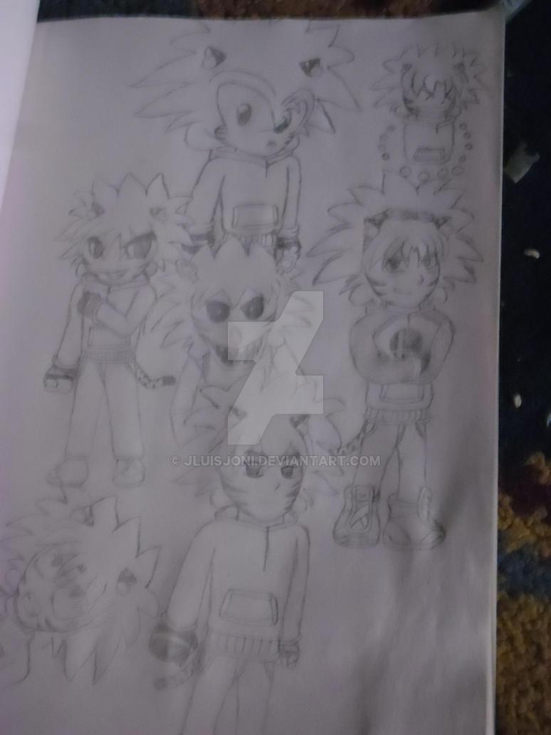 One character, various styles, part 3 by KuraiJinx
